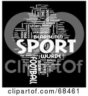 Sport Word Collage Version 2