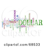 Dollar Word Collage Version 3