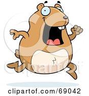 Hyper Hamster Running