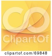 Royalty-Free (RF) Clipart Illustration of an Orange Abstract Background by MacX