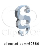 Royalty Free RF Clipart Illustration Of A Paragraph Symbol Icon Version 5 by MacX