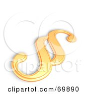 Royalty Free RF Clipart Illustration Of A Paragraph Symbol Icon Version 6 by MacX