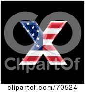American Symbol Lowercase X by chrisroll