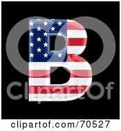 American Symbol Capital B