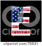 American Symbol Capital E by chrisroll
