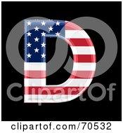 American Symbol Capital D