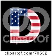 American Symbol Capital D by chrisroll