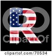 American Symbol Capital R by chrisroll