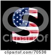 American Symbol Capital S by chrisroll
