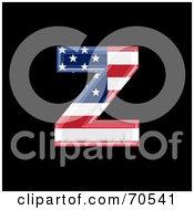 American Symbol Lowercase Z