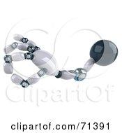 3d A Ok Techno Robot Hand Version 1 by Julos