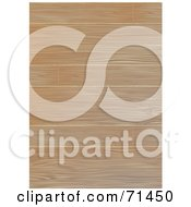 Royalty Free RF Clipart Illustration Of A Background Of Wooden Flooring Panels
