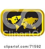 Black And Golden Atlas Website Icon