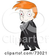 Red Haired David Boy Halloween Vampire