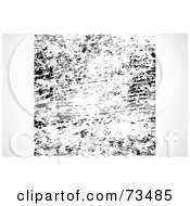 Royalty Free RF Clipart Illustration Of A Black And White Texture Background Version 2 by BestVector