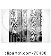 Royalty Free RF Clipart Illustration Of A Black And White Texture Background Version 5 by BestVector