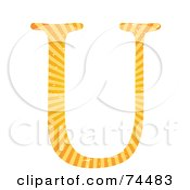Sunny Capital Letter U