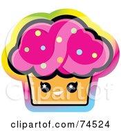 Royalty Free RF Cupcake Clipart Illustrations Vector