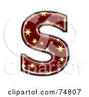 Starry Symbol Capital Letter S