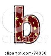 Starry Symbol Lowercase Letter B