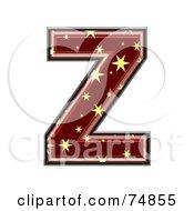Starry Symbol Capital Letter Z