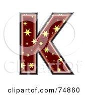 Starry Symbol Capital Letter K