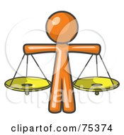 Royalty-Free (RF) Scales Of Justice Clipart, Illustrations, Vector ...