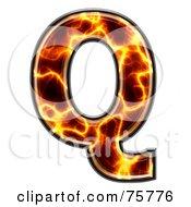 Magma Symbol Capital Letter Q