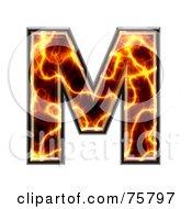 Magma Symbol Capital Letter M