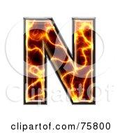 Magma Symbol Capital Letter N