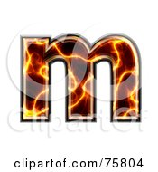 Magma Symbol Lowercase Letter M