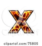 Magma Symbol Lowercase Letter X