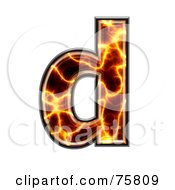 Magma Symbol Lowercase Letter D