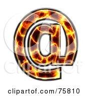 Magma Symbol Arobase