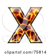 Magma Symbol Capital Letter X