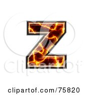 Magma Symbol Lowercase Letter Z