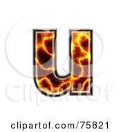 Magma Symbol Lowercase Letter U