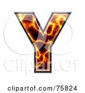 Magma Symbol Capital Letter Y