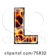 Magma Symbol Capital Letter L