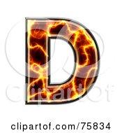 Magma Symbol Capital Letter D