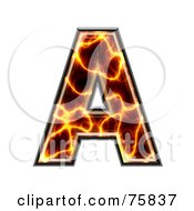 Magma Symbol Capital Letter A