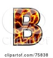 Magma Symbol Capital Letter B