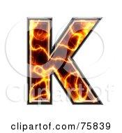 Magma Symbol Capital Letter K