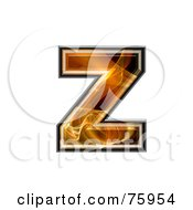 Fractal Symbol Lowercase Letter Z by chrisroll