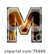 Fractal Symbol Capital Letter M by chrisroll