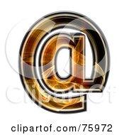 Fractal Symbol Arobase