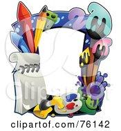 Colorful Art Frame by BNP Design Studio