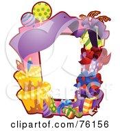 Birthday Party Frame by BNP Design Studio