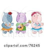 Hawaiian Hippo Luau