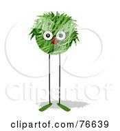 Leggy Green Grass Ball Creature by NL shop